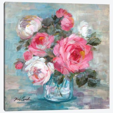 Summer Roses II Canvas Print #DEB97} by Debi Coules Art Print