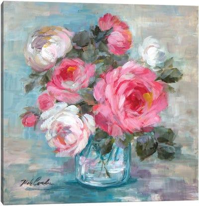 Summer Roses II Canvas Art Print