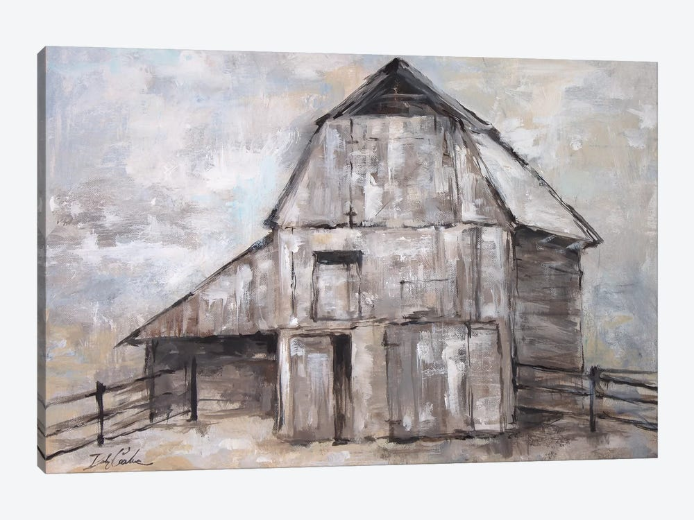 The Barn 1-piece Canvas Art Print