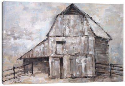The Barn Canvas Art Print