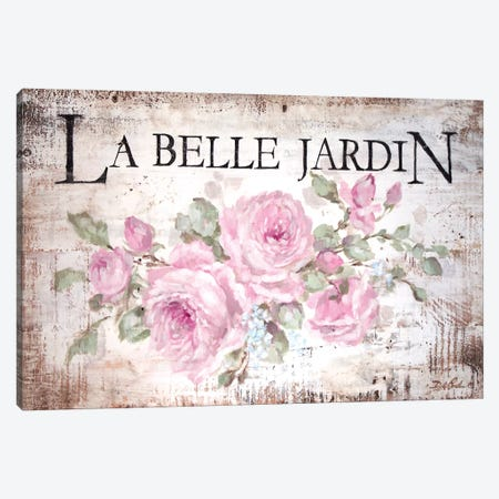 La Belle Jardin Canvas Print #DEB99} by Debi Coules Canvas Wall Art
