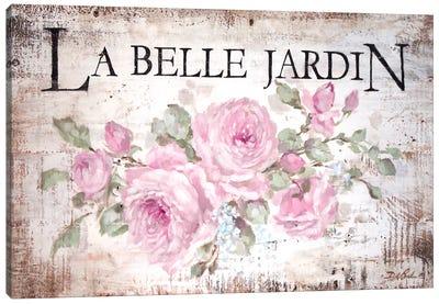 La Belle Jardin Canvas Art Print