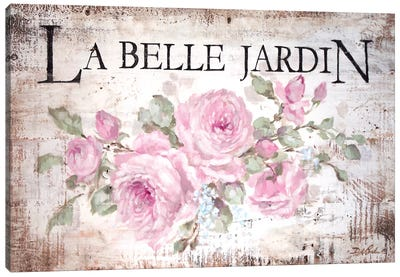 La Belle Jardin Canvas Art Print