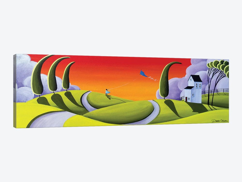 Whirly Winds by Debbie Criswell 1-piece Canvas Artwork
