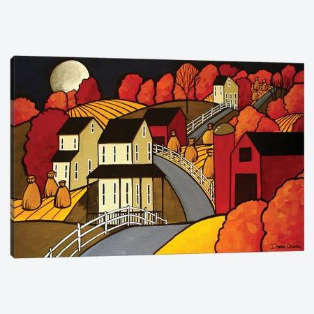 Autumn Night Canvas Print #DEC11} by Debbie Criswell Art Print