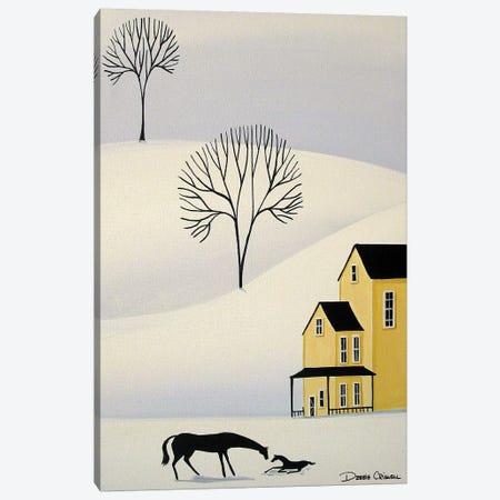 December Birthday 3-Piece Canvas #DEC135} by Debbie Criswell Canvas Wall Art