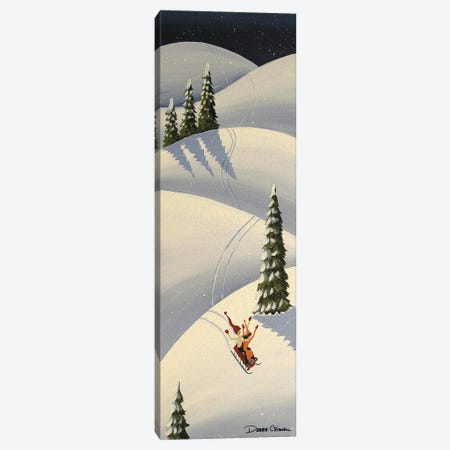 Downhill Fun Canvas Print #DEC136} by Debbie Criswell Canvas Art