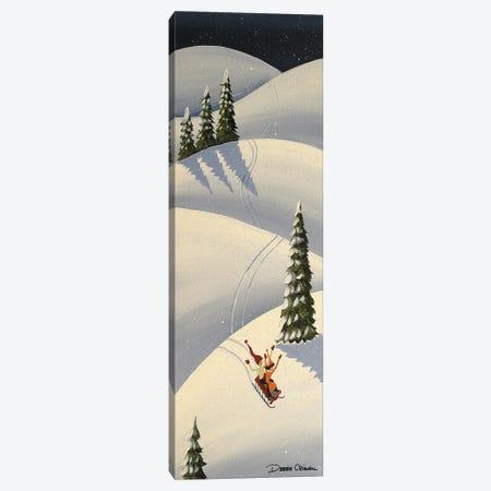Downhill Fun Canvas Print #DEC136} by Debbie Criswell Canvas Art