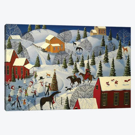 Grandma Gifts Canvas Print #DEC141} by Debbie Criswell Canvas Wall Art