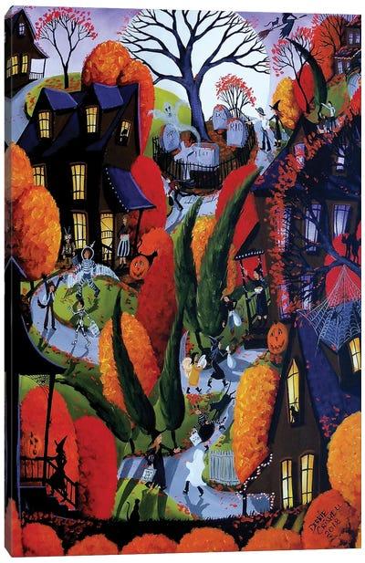 Halloween Night Canvas Art Print