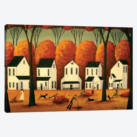 Beauty Of Autumn Canvas Print #DEC14} by Debbie Criswell Canvas Artwork
