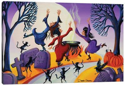 Potion Commotion Canvas Art Print