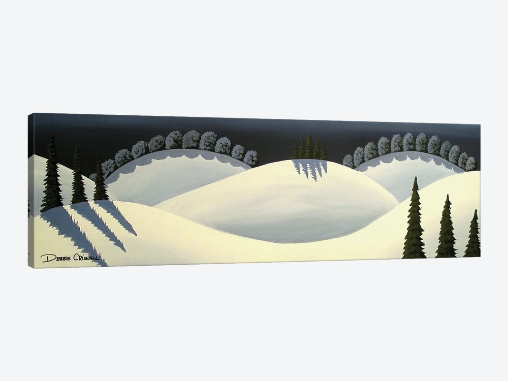 Snow Covered by Debbie Criswell 1-piece Canvas Artwork