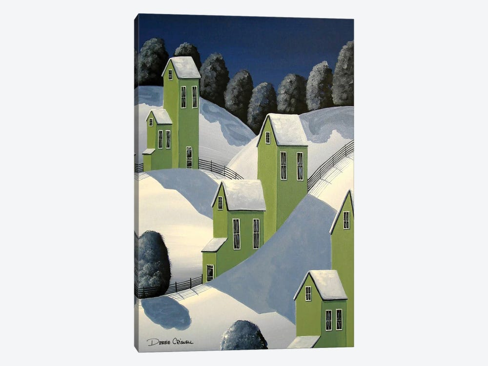 Winter Green by Debbie Criswell 1-piece Canvas Art