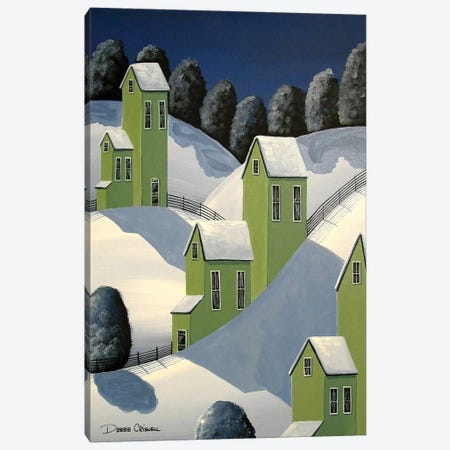 Winter Green Canvas Print #DEC180} by Debbie Criswell Canvas Artwork