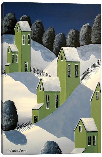 Winter Green Canvas Art Print