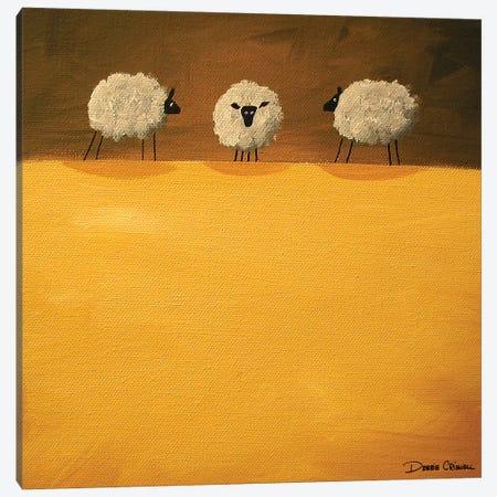 contemplating Canvas Print #DEC23} by Debbie Criswell Canvas Artwork
