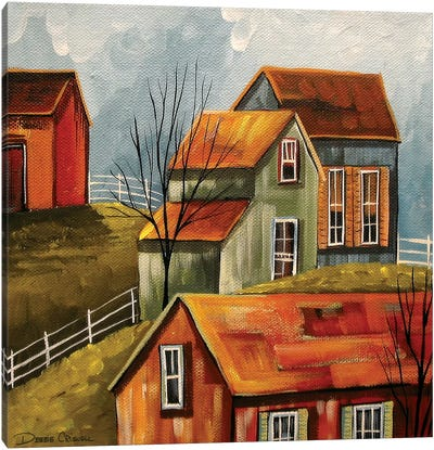 Country Color III Canvas Art Print