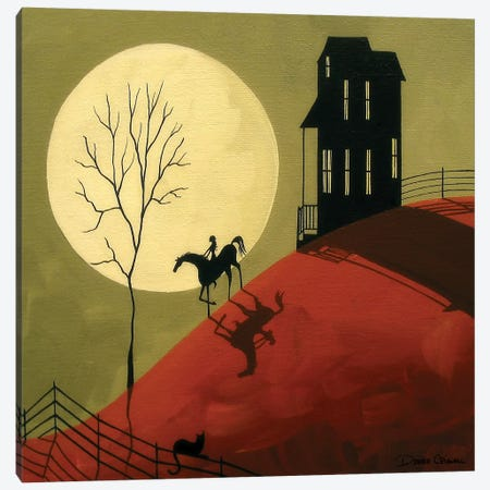 A Midnight Ride Canvas Print #DEC2} by Debbie Criswell Canvas Artwork