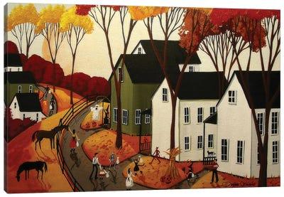 Early Halloween Canvas Art Print