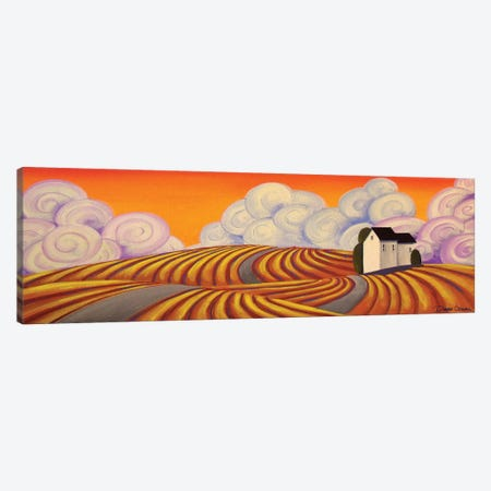 Graffiti Farm Canvas Print #DEC43} by Debbie Criswell Canvas Art