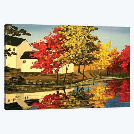 Mix Of Autumn Canvas Print #DEC65} by Debbie Criswell Canvas Print