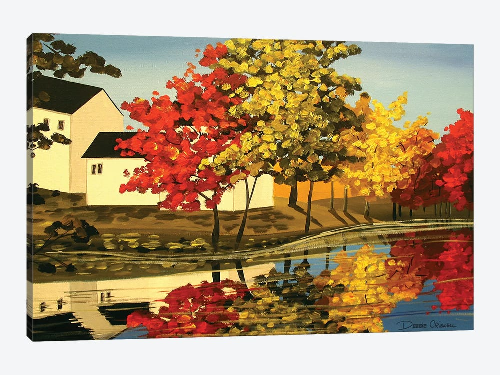 Mix Of Autumn by Debbie Criswell 1-piece Canvas Artwork
