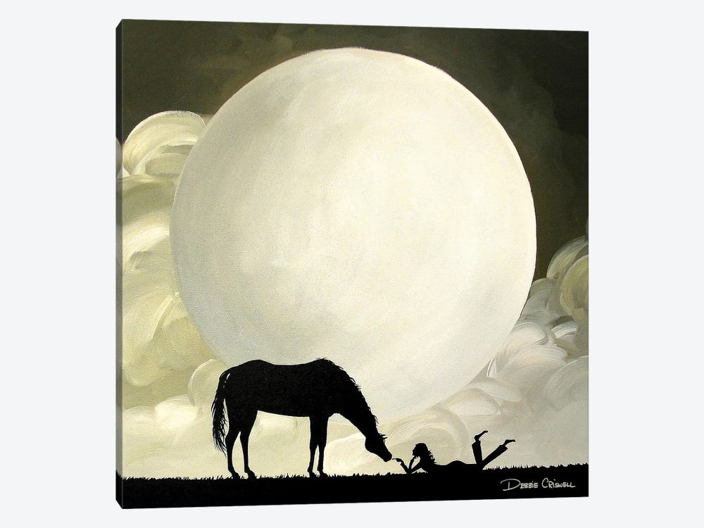 Quality Time by Debbie Criswell 1-piece Canvas Artwork