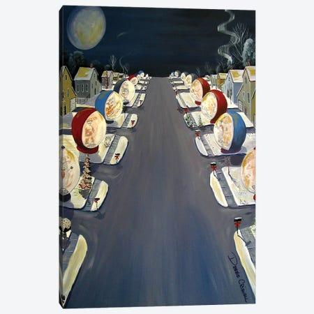 Snow Globe Madness Canvas Print #DEC90} by Debbie Criswell Art Print