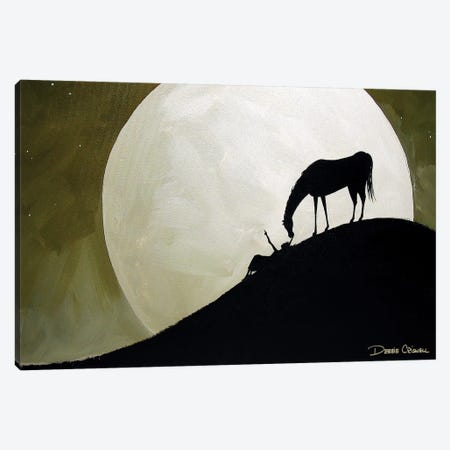 Star Gazing Canvas Print #DEC91} by Debbie Criswell Art Print