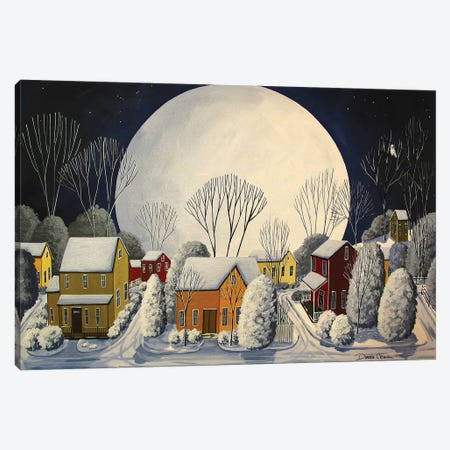 Starry Sky Quiet Night Canvas Print #DEC93} by Debbie Criswell Canvas Art Print