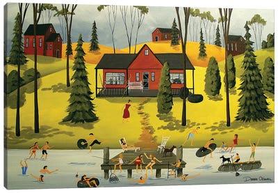 Summer Weekends Canvas Art Print