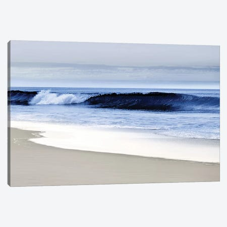 Blue Wave II Canvas Print #DED10} by Devon Davis Canvas Wall Art