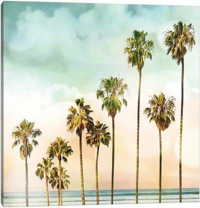 Beach Palms I Canvas Art Print