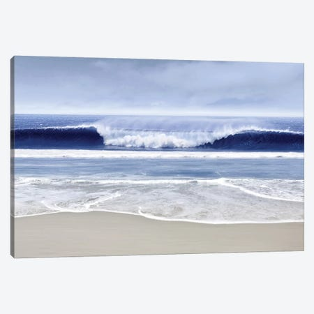 Blue Wave I Canvas Print #DED9} by Devon Davis Canvas Art Print