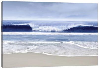 Blue Wave I Canvas Art Print