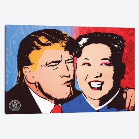 Kiss And Make Up Canvas Print #DEG12} by D13EGO Canvas Art Print
