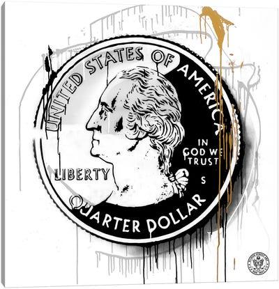 Lucky Coin Canvas Art Print