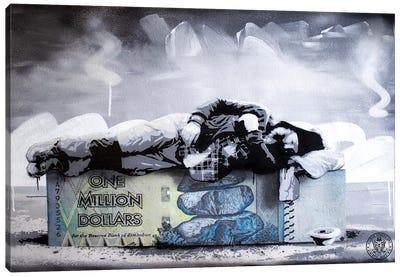 Poor Millionaire Canvas Art Print