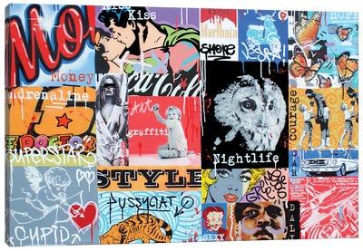 Pop Canvas Art Print