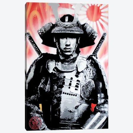 Sunrise Samurai Canvas Print #DEG23} by D13EGO Canvas Art