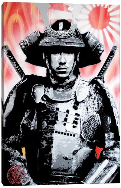 Sunrise Samurai Canvas Art Print