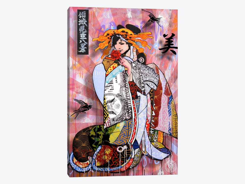 The Beauty Of Money by D13EGO 1-piece Canvas Wall Art