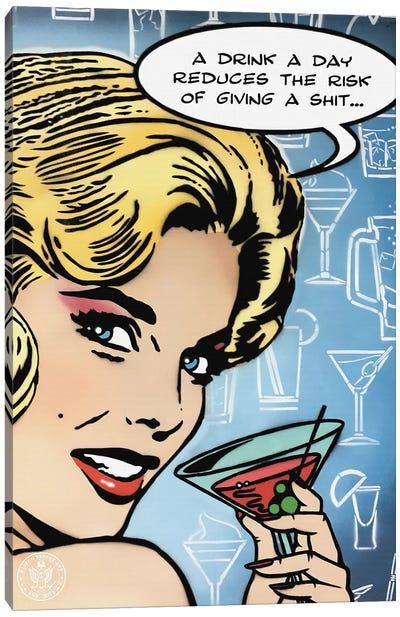 A Drink A Day Canvas Art Print