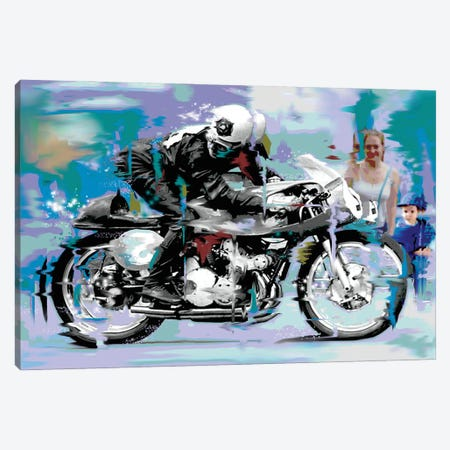 Speed Canvas Print #DEG42} by D13EGO Canvas Wall Art