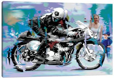 Speed Canvas Art Print