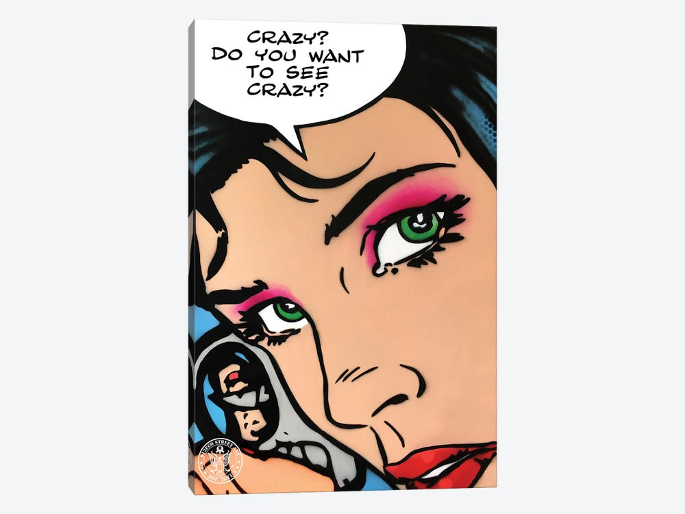 Crazy! by D13EGO 1-piece Art Print