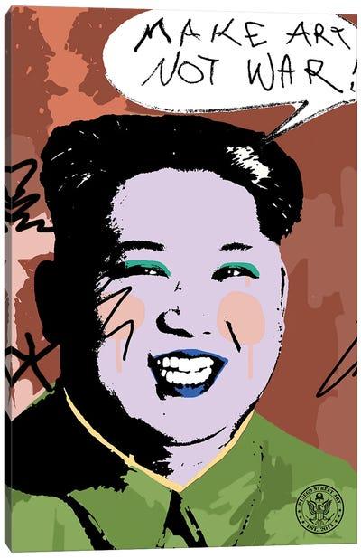 Make Art Not War Canvas Art Print