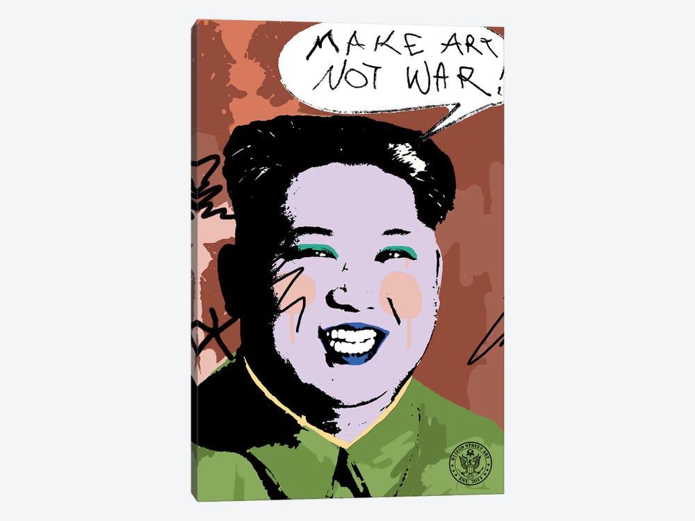 Make Art Not War by D13EGO 1-piece Canvas Print