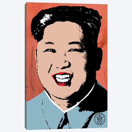Rocket Man Canvas Print #DEG46} by D13EGO Art Print